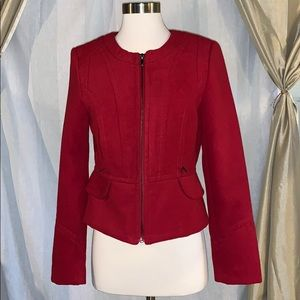 Express collarless jacket